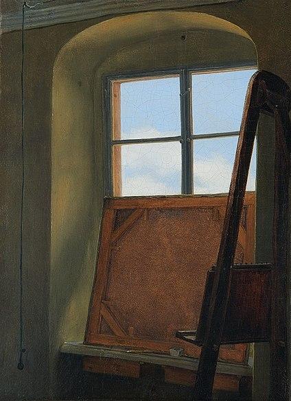 File:Carl Gustav Carus - Das Atelierfenster.jpg