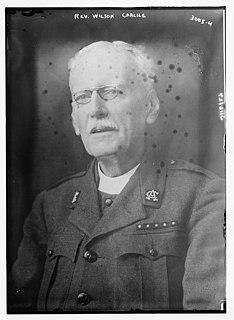 Wilson Carlile British evangelist