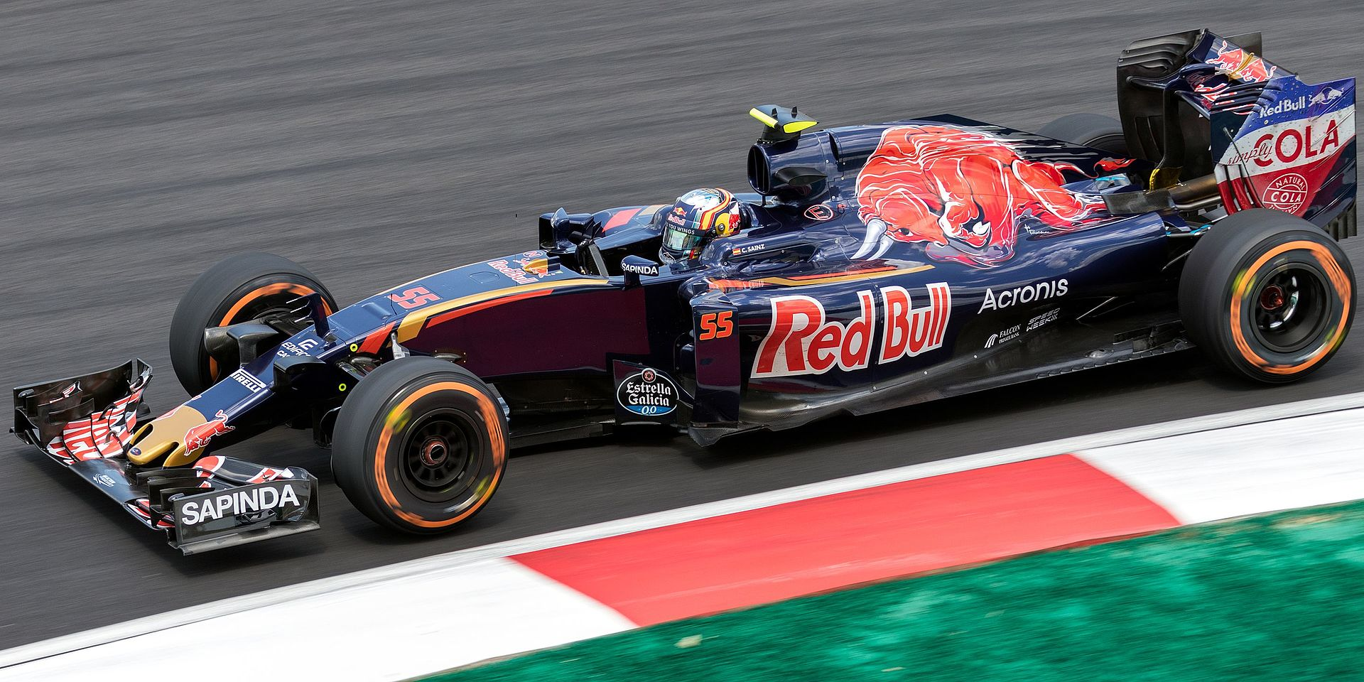 Scuderia Toro Rosso honda str14 kwjat fórmula 1 Alemania 2019 1:43 Minichamps
