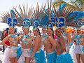 Carnival parade along Las Canteras town beach 2015 - 2.jpg