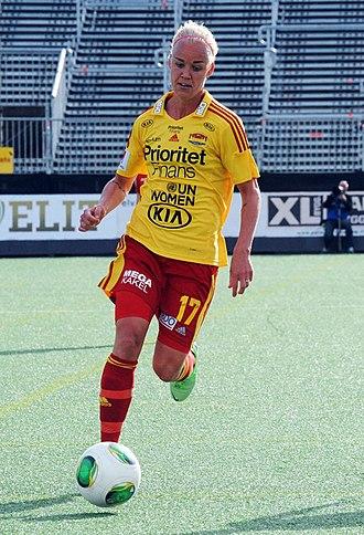 Tyresö FF - Caroline Seger, June 2013