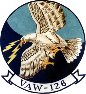 Carrier Air Wing One - Image: Carrier Airborne Early Warning Squadron 126 (US Navy) patch
