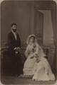 Casamento de Eugénia da Silva Mendes Loureiro e José de Mascarenhas Relvas (5 de Fevereiro de 1882).png