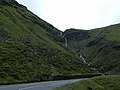 Cascade at hairpin bend above Nant-y-Moel - geograph.org.uk - 439723.jpg