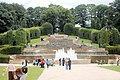 Cascading water in Alnwick gardens - geograph.org.uk - 1398053.jpg