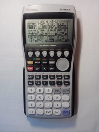 Casio 9860 series - Casio fx-9860GII