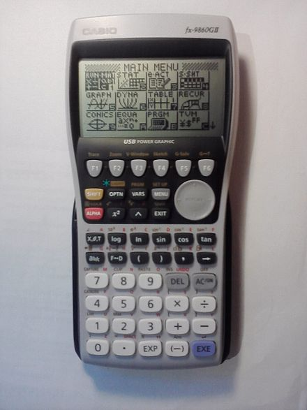 casio fx 9860g au plus how to draw a graph