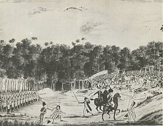 History of Australia (1788–1850) - The Vinegar Hill convict rebellion of 1804