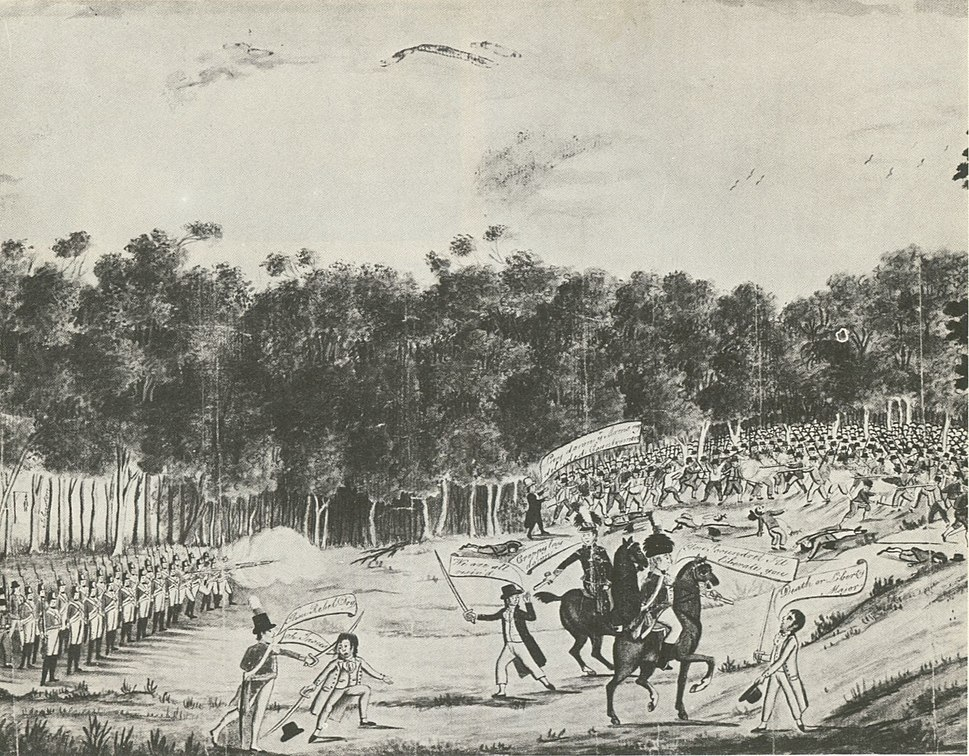 Castle hill irish rebellion of 1804 australia