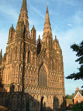 Image illustrative de l'article Cathédrale de Lichfield
