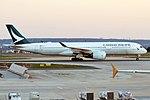 Cathay Pacific, B-LRF, Airbus A350-941 (47578570822).jpg