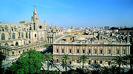 Cathedral and Archivo de Indias - Seville.jpg