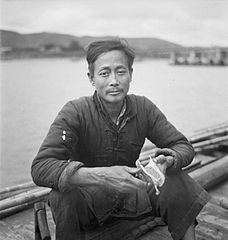 Cecil Beaton Photographs- General; China 1944, a river coolie IB3242C.jpg
