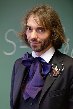Cedric Villani at his office 2015 n3.jpg