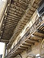 Ceiling & Long Balcony - Andul Royal Palace - Howrah 2012-03-25 2811.JPG