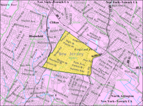 Census Bureau map of Nutley, New Jersey.png