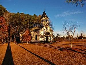 Centenary Methodist Church (Rowland, North Carolina) - Centenary Methodist Church in 2013