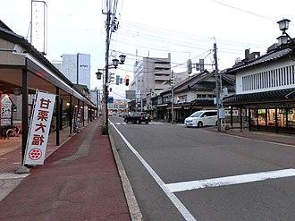 Jōetsu, Niigata - Image: Central Naoetsu