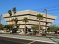 Central Phoenix, AZ, View N, Cental Avenue, Pyramid on Central Building, 2011 - panoramio.jpg