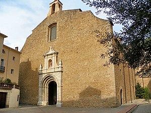 Church of Saint Peter, Céret - Church of St. Peter: Western Façade