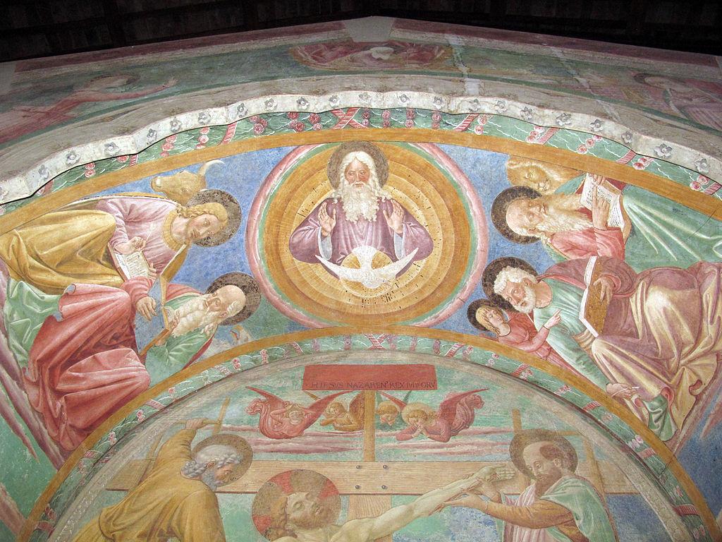 Certaldo alta, santi tommaso e prospero, tabernacolo dei giustiziati 11