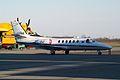 Cessna 550 Citation II, I-AVRM Biella Cerrione airport (3387302187).jpg