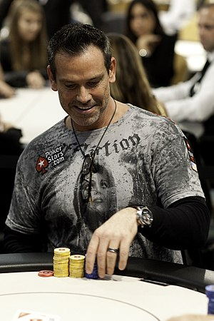 Chad Brown (poker player) - Chad Brown at PokerStars EPT London 2010