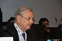 Chair of the Transparency Committee Francois-Xavier de Donnea (Belgium) addresses the Standing Committee (9164015683).jpg