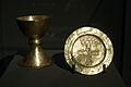 Chalice and Paten from Tyniec, 1050, exh. Benedictines NG Prague, 150645.jpg