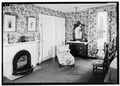 Chamber -4, Fireplace, July 1941. - Springwood, Hyde Park, Dutchess County, NY HABS NY,14-HYP,5-49.tif