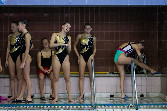 Championship of the North-West Federal District in synchronized swimming (2016-10-20) 01.jpg