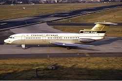 Channel Airways Trident