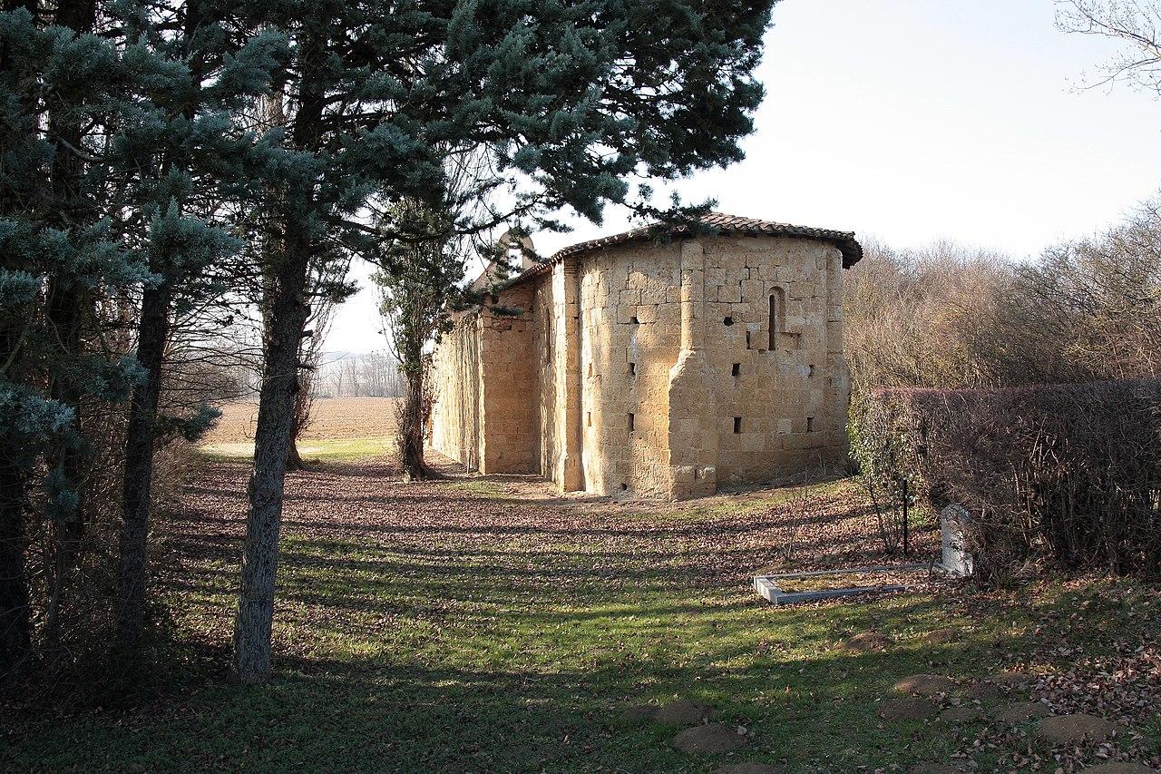 Chapelle Saint André du Fossat vue de l'est.JPG