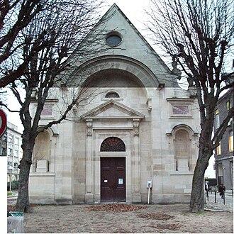 Hôpital Saint-Louis - Image: Chapelle St Louis 051