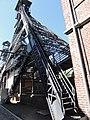 Charleroi, Marcinelles, Bois du Cazier, escalier du grand chevalement.jpg