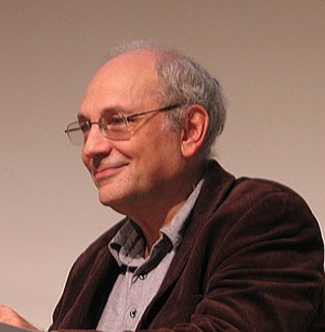 English: American poet Charles Bernstein at Wr...