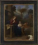 Charles LeBrun - The Holy Family in Egypt - 65.40 - Minneapolis Institute of Arts.jpg