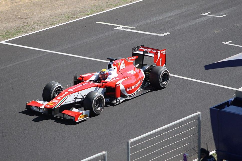 Charles Leclerc Jerez 2017