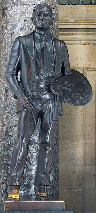 John Weaver (artist) - Charles Marion Russell, National Statuary Hall Collection