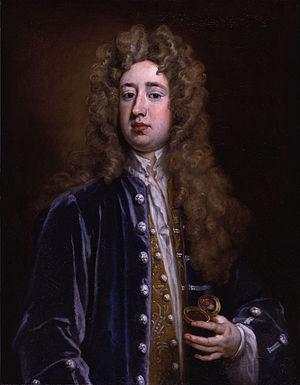 Charles Mohun, 4th Baron Mohun - Lord Mohun, by Sir Godfrey Kneller, 1707
