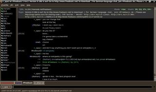 ChatZilla Firefox IRC client addon