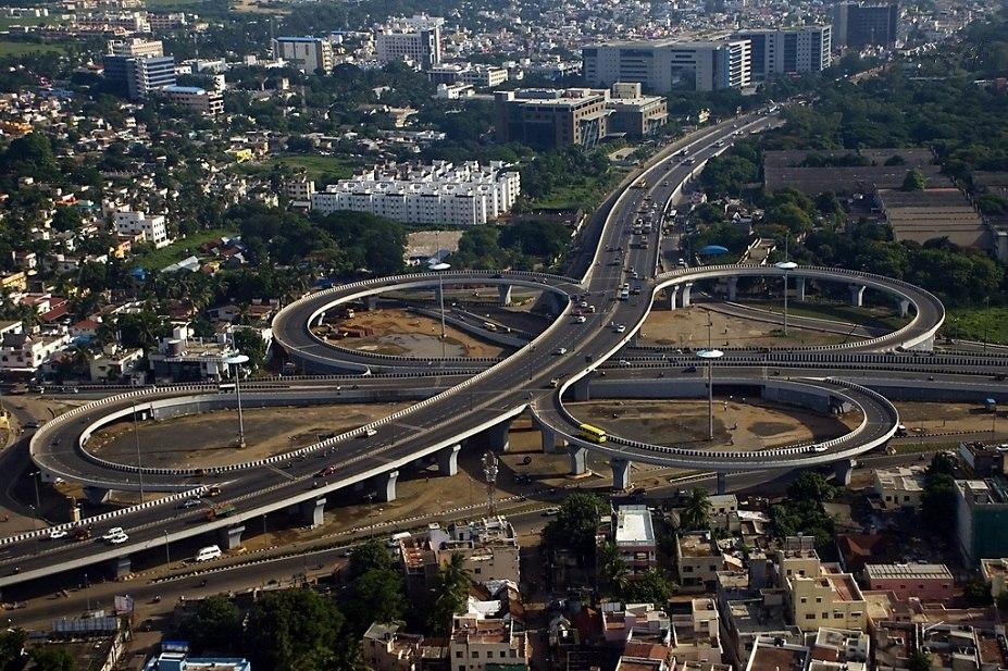 Chennai Kathipara bridge