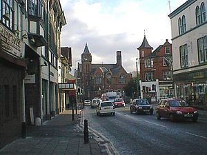Chesterfield Museum and Art Gallery - Image: Chesterfield Holywell Street view towards Museum geograph.org.uk 309732