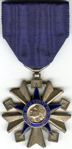 Chevalier Order de la Sante Publique.jpg