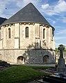Chevet de l'église saint Marcouf, Saint-Marcouf, France.jpg