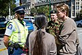 Chief of Defence Force meets with police at cordon - Flickr - NZ Defence Force.jpg