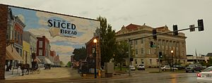 Livingston County, Missouri - County seat Chillicothe is the birthplace of sliced bread