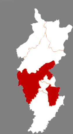 Tonghua County in Tonghua City