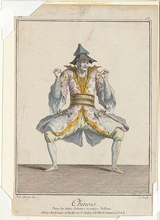 Les Indes galantes - Image: Chinois, dans Les Indes galantes et autres ballets (NYPL b 12148548 5551142)