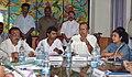 Chowdhury Mohan Jatua holding a meeting on development issues with the West Bengal Minister of State for Sundarban Development Affairs (IC), Shri Shyamal Mandol, in Kolkata on June 01, 2011.jpg